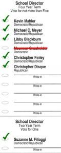 November 3 ballot